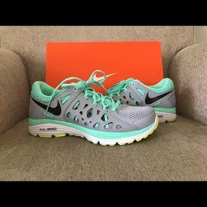 Nike Dual Fusion Run 2 - Turquoise & Gray -Mermaid